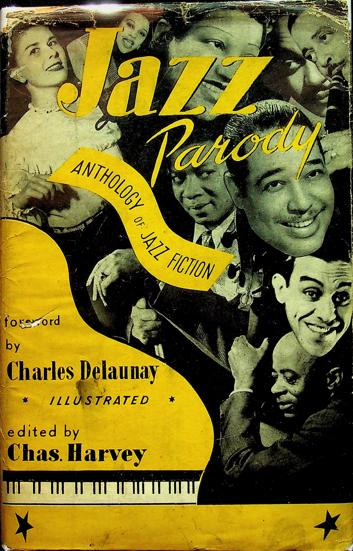 Image for Jazz Parody: Anthology of Jazz Fiction; No. 2 in the A. J. S. Series